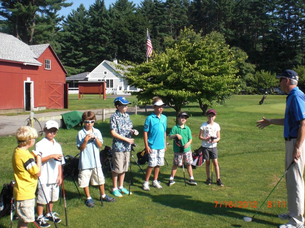 July 18th Jr. Golf School with Dave Twohig