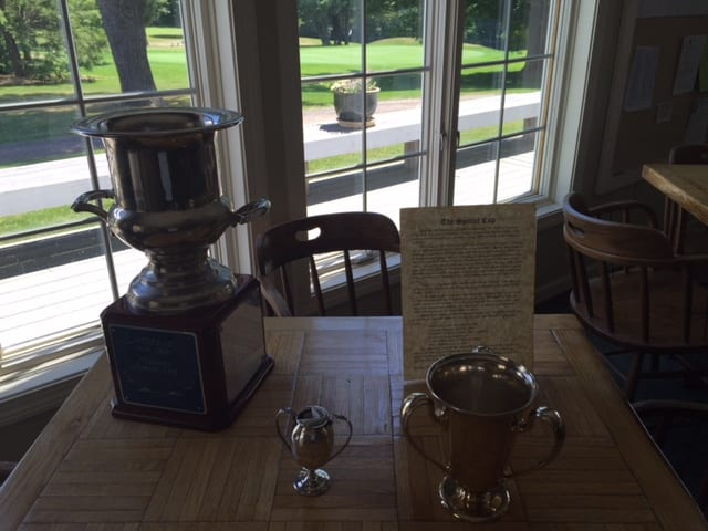 Special Cup trophies